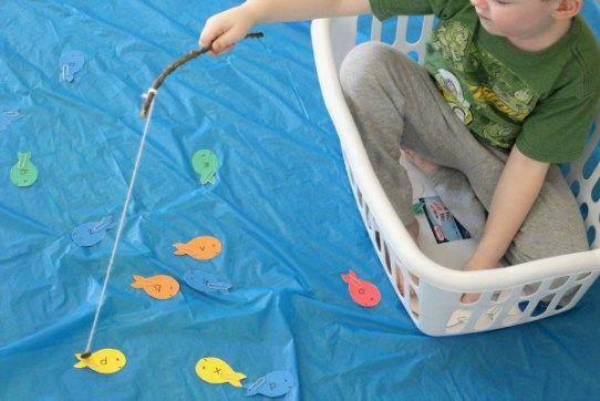 10 leukste spelletjes met een wasmand • Badschuim