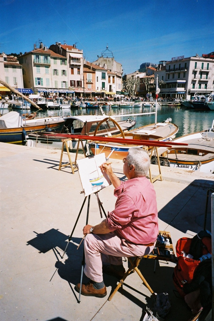 Cassis, a painter around the port: Favorite Places, Country Finding, Places I D, French Country, Global Harbor, Mon Port, The Roller Coasters