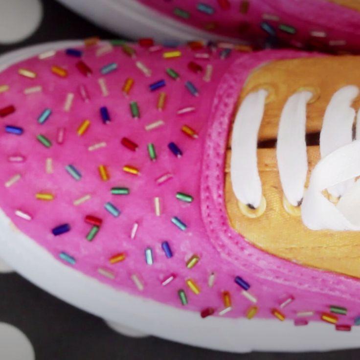 DIY Donut Shoes