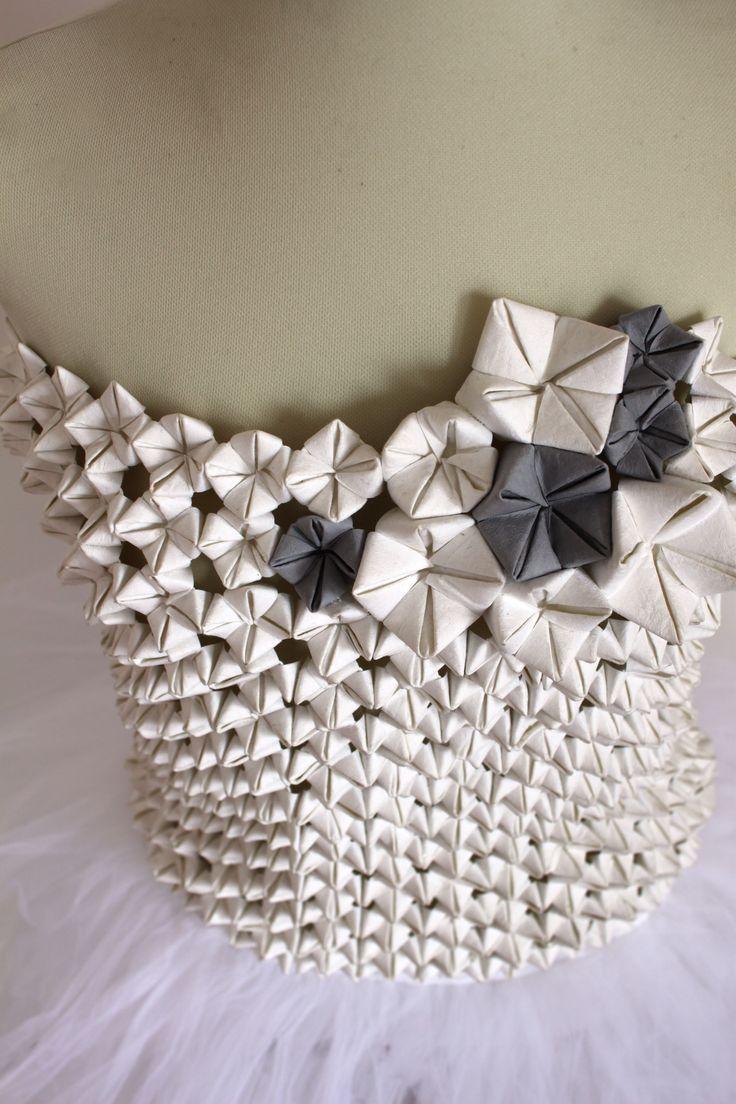 Jacroki origami bodice, design Elena Salmistraro | My ...
