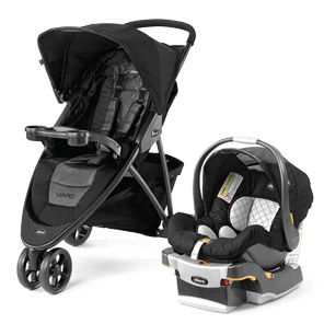 The Chicco Viaro Travel System is a quick to fold, easy to maneuver lightweight stroller. The Viaro travel system gives you the freedom to let the winds of adventure take you wherever you want to go.