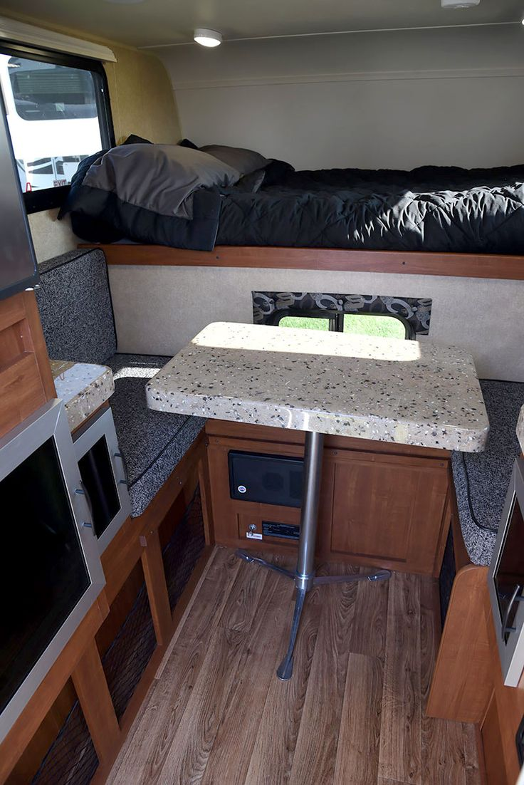17 best images about truck camper ideas on pinterest for Truck camper interior ideas