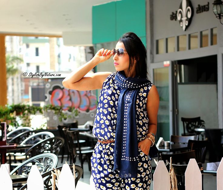 Welcome spring like our fav muse Shalini Chopra blogger @Stylish By Nature. #blogger #spring #scarf  Shop this studded scarf here >> http://buff.ly/1EVyWql