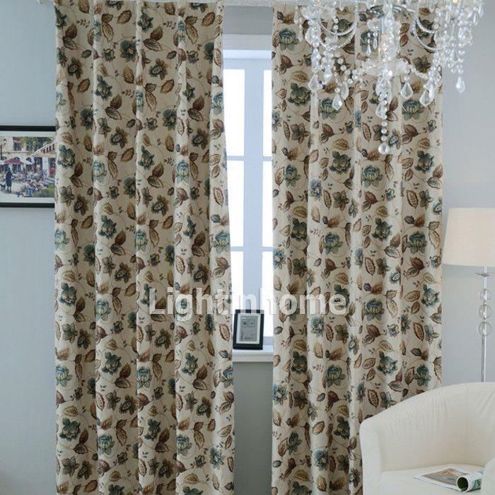floral burlap curtains with sound dampening function. Black Bedroom Furniture Sets. Home Design Ideas