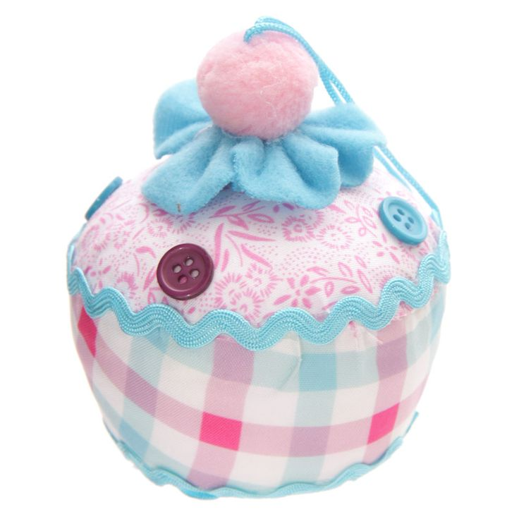 Cute Cup Cake Hanging Pin Cushion