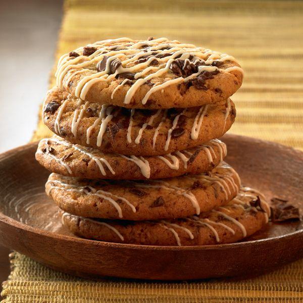Sinaasappelkoekjes met chocolade (1 ProPoint per koekje) #WeightWatchers #WWrecept