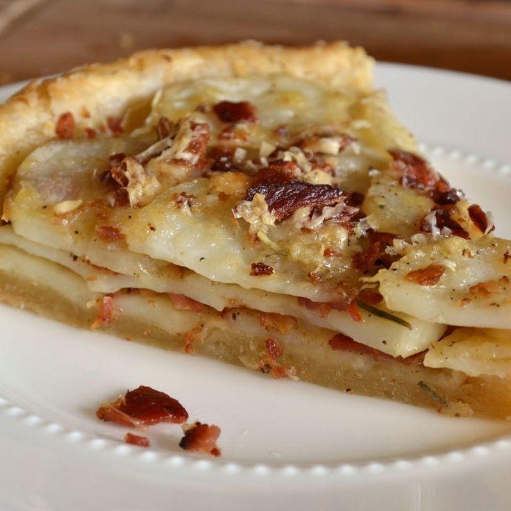 Potato Tart with Gruyere, Bacon, and Rosemary | Recipe ...