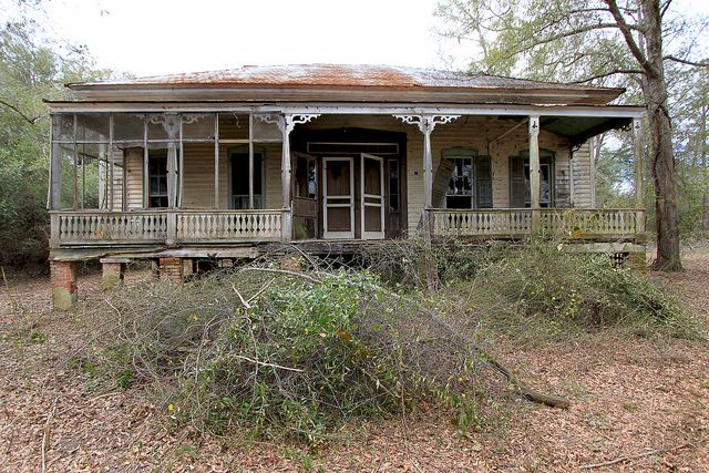 Abandoned house in Russell County, Alabama.