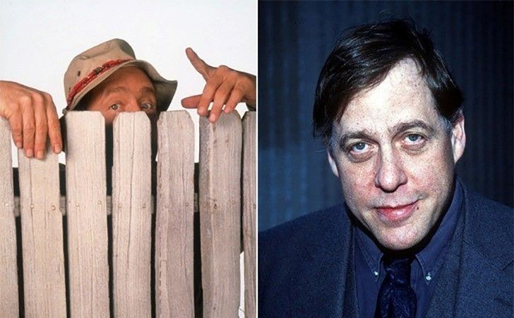 Earl Hindman  Many won't recognize his face, as Earl was always hidden behind a fence in Home Improvement. He died at the age of 61 in 2003 from lung cancer.