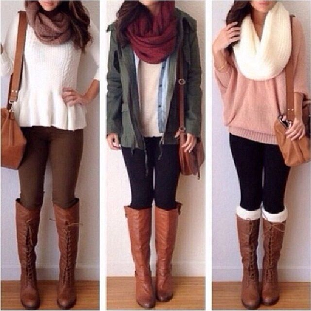 Cool winter boots to style your casual outfit no matter the weather! Let's go get them boots out of the wardrobe girls