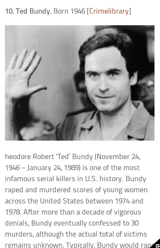 the charming predator ted bundy What made ted bundy such a prolific serial killer  how serial killers like charles shobraj and ted bundy are/were so charming  bundy was a super-predator.