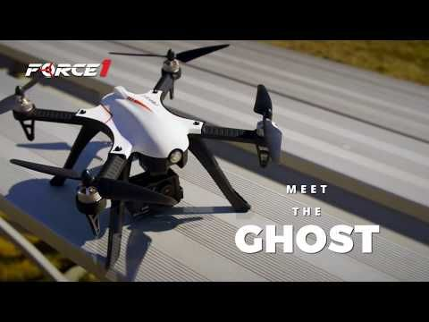 F100 Ghost Drone with Camera Test Flight - YouTube