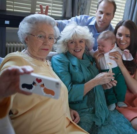 Behind the scenes as the Queen meets Princess Charlotte