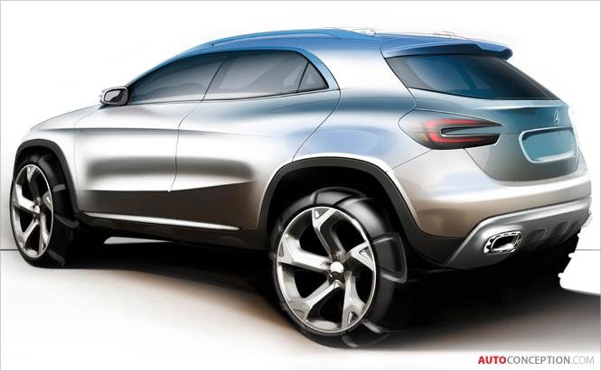 Mercedes Concept GLA SUV