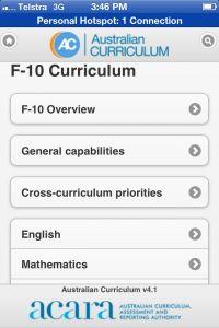 Australian Curriculum App