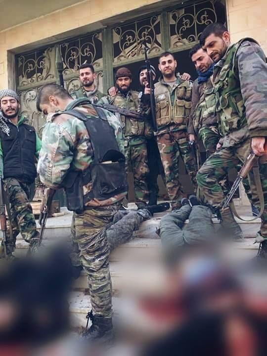 Noticia Final: Imagens para maiores de 18: Exército da Síria lanç...