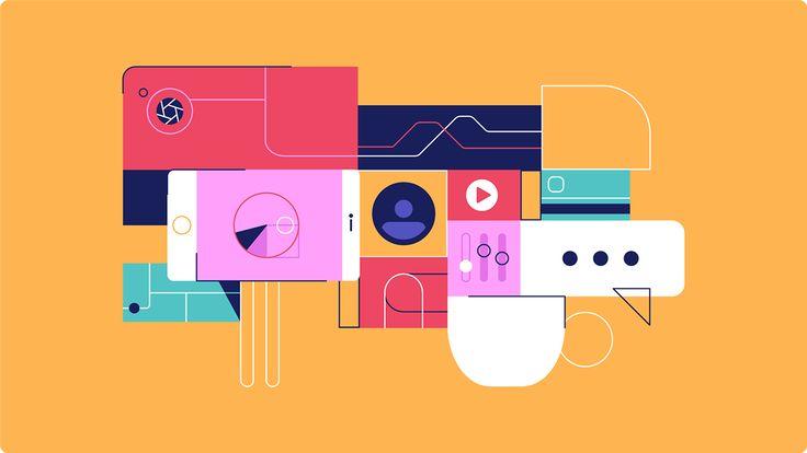 Adobe - Marketing Cloud on Behance