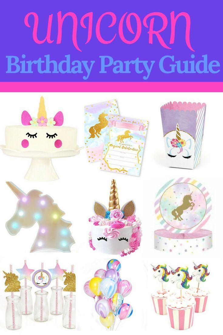 40 Magical Unicorn Party Ideas! The Ultimate Unicorn Birthday Party ...
