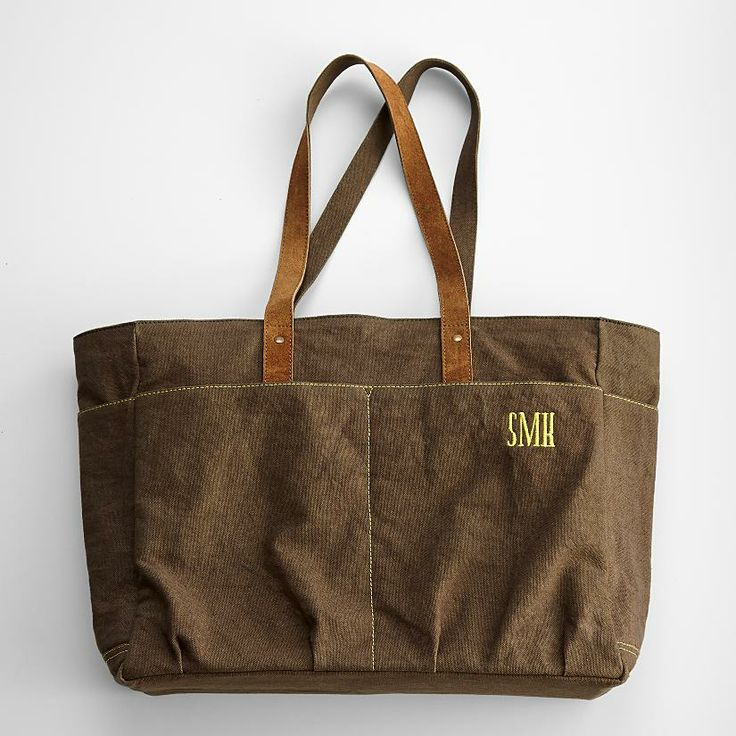 Personalized Garden Tote // Red Envelope // $49.95