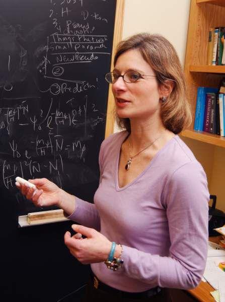 Harvard University theoretical physicist Lisa Randall