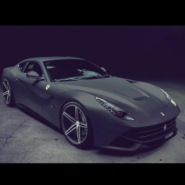 Gorgeous Matte Ferrari F12 Berlinetta