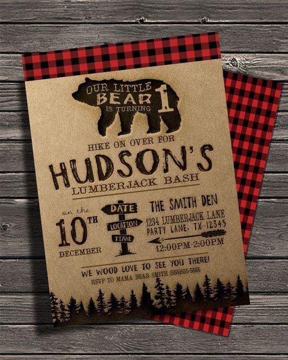 24 Lumberjack Themed Birthday Party Ideas