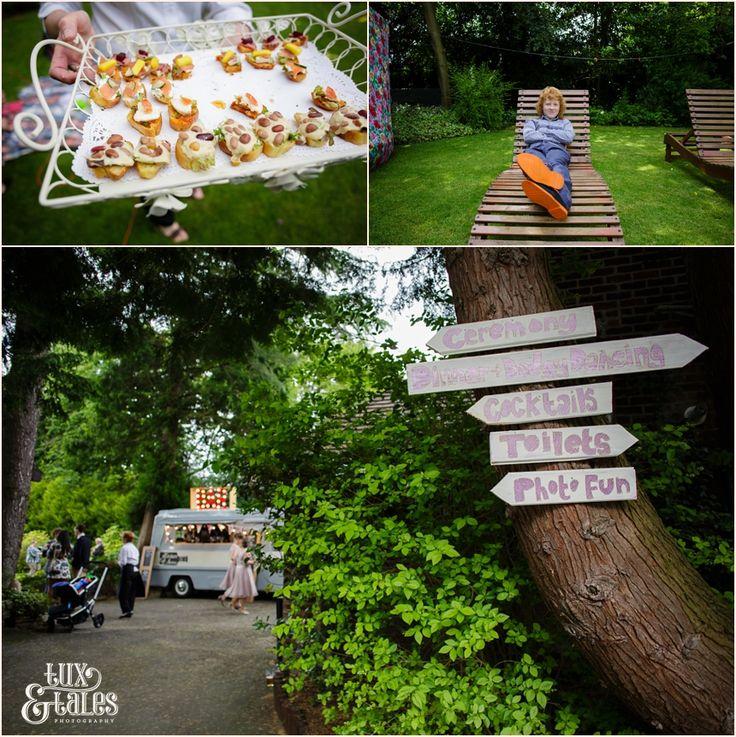Informal Wedding Ceremony Ideas: Back Garden Wedding Photography Informal Detaisl With