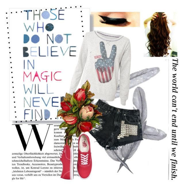 """""""Those who do not believe in magic will never find it"""" by morgan-ashley-muller ❤ liked on Polyvore"""