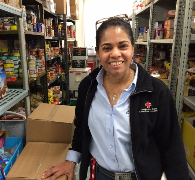 From food bank client to support worker: Martha Gutierrez's remarkable Red Cross journey