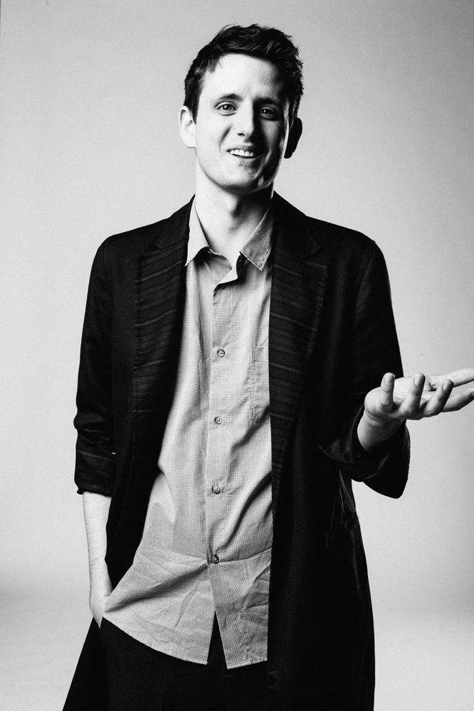 Zach Woods. Possibly the most adorable (and dorky) guy on the planet.  I chose him to play Galileo Taliwood, the most helpful and sincere guy on the Navajo Rez.