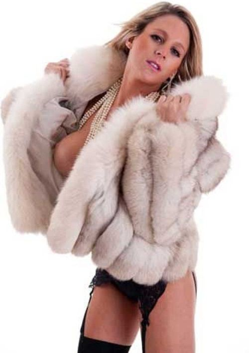 Fur Coat Big Tits