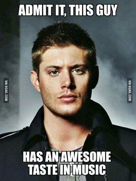 Dean Winchester ladies and gentlemen                                                                                                                                                                                 Mais                                                                                                                                                                                 More
