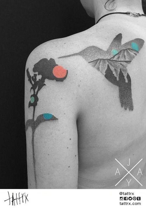 Jaya Suartika | Adelaide Australia - Hummingbird and Petunia