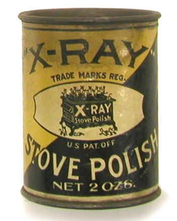 My sis Kelly, who is studying to be a Rad Tech, told me about the crazy fad of using XRay titles on products to sell them when the XRay machine was first 'invented'.