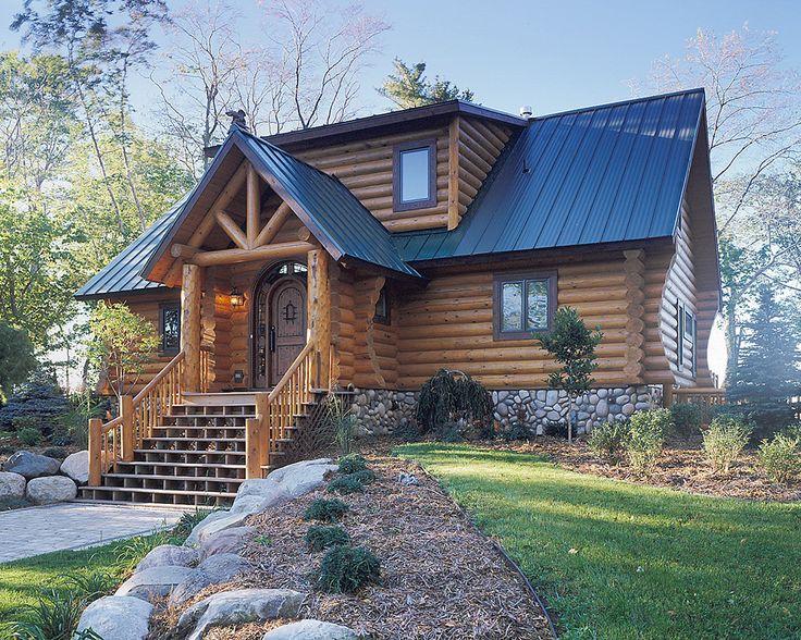 Norway Knight Log Home Floor Plan by Hiawatha Log Home