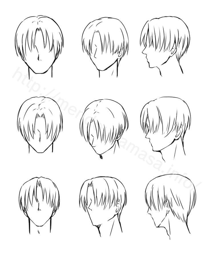 Pin By Sanya Siddiqui On Drawing Tips In 2020 Boy Hair Drawing Drawing Male Hair Manga Hair