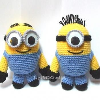 Minion Dave Amigurumi : 1000+ images about Knit/Crocheted Toys on Pinterest
