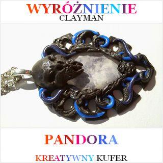 Wyniki Wyzwania Tematycznego - Mityczna postać: Pandora | Kreatywny Kufer http://clayman76.blogspot.com/
