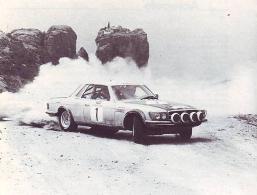 Mercedes Acropolis Rally 1980.