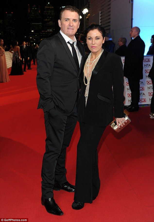 Working couple: EastEnders stars Shane Richie and Jessie Wallace were on the same sartoria...