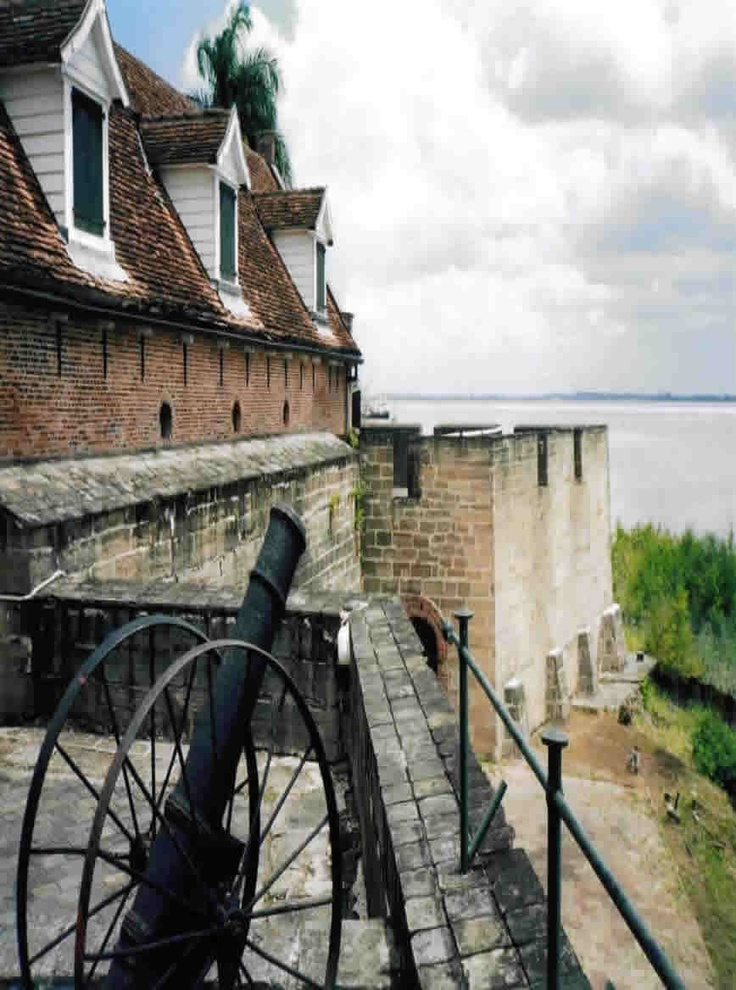 Fort Zeelandia in Suriname built 1667