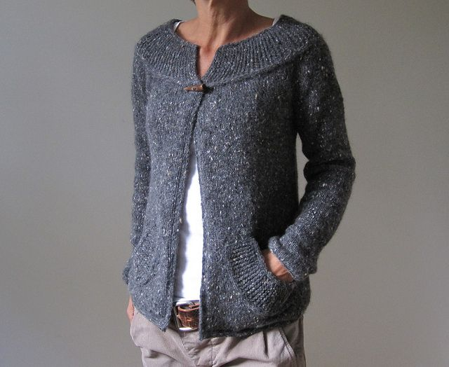 another wonderful cardigan. great color.