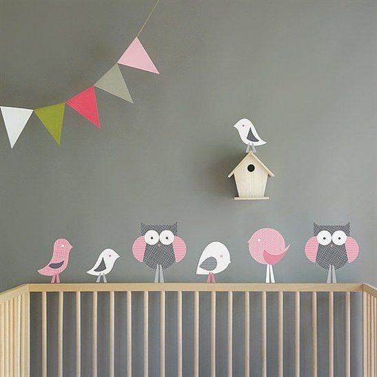 girl owl nursery ideas