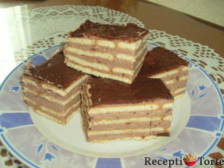 Čoko keks torta ... Za sve ljubitelje čokolade :)