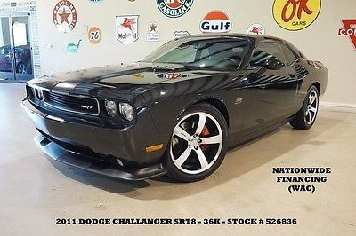 cool 2011 Dodge Challenger SRT8 6 SPDEXHAUSTNAVKICKER SUBHTD LTH36K! - For Sale View more at http://shipperscentral.com/wp/product/2011-dodge-challenger-srt8-6-spdexhaustnavkicker-subhtd-lth36k-for-sale/