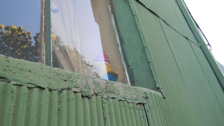 Window with gnome, Valparaiso chile