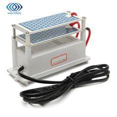 110V 10g/H Ozone Generator Shock Treatment Air Ozonizer Double Ceramic Plate Low Power Consumption Durable