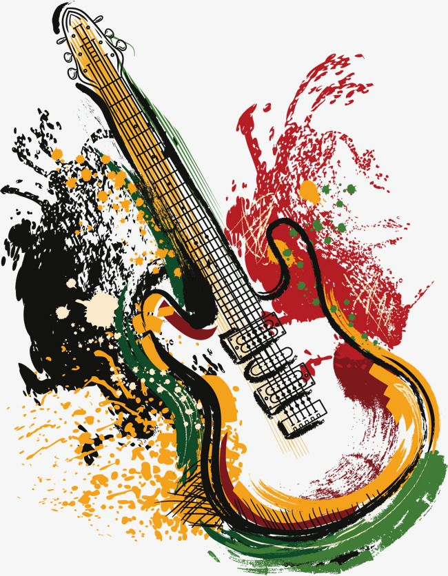 Vector Art Guitar Guitar Vector Guitar Vector Png And