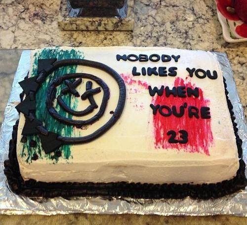 The cake im gonna get for my boyfriend #blink182