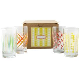Party Glasses Gift Box of 4